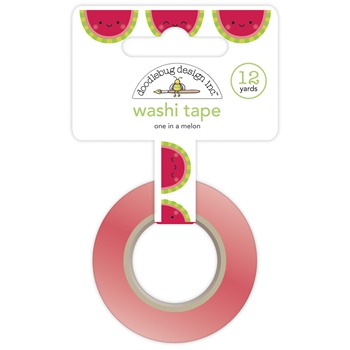 Doodlebug ONE IN A MELON Washi Tape 6753