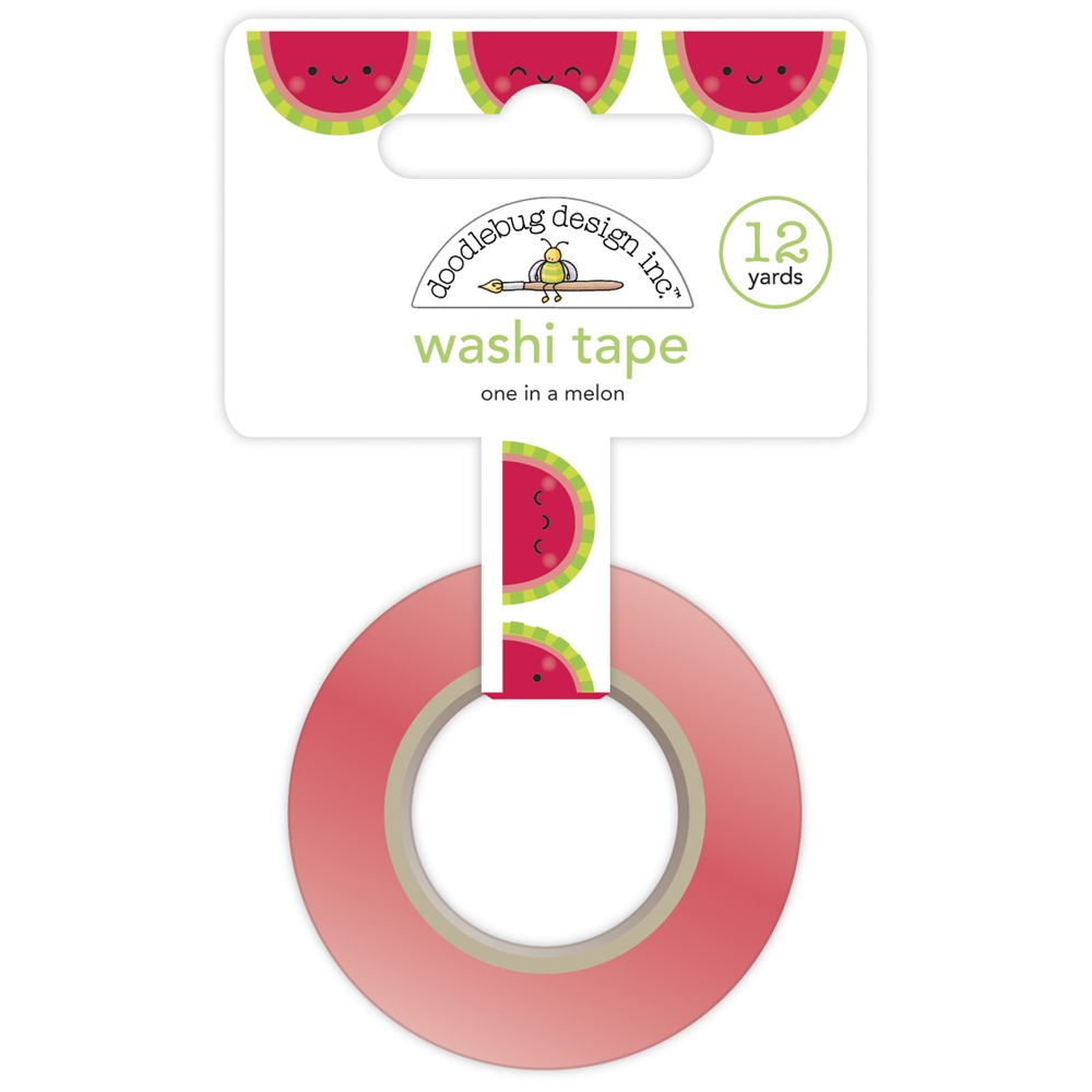 Doodlebug ONE IN A MELON Washi Tape 6753 zoom image
