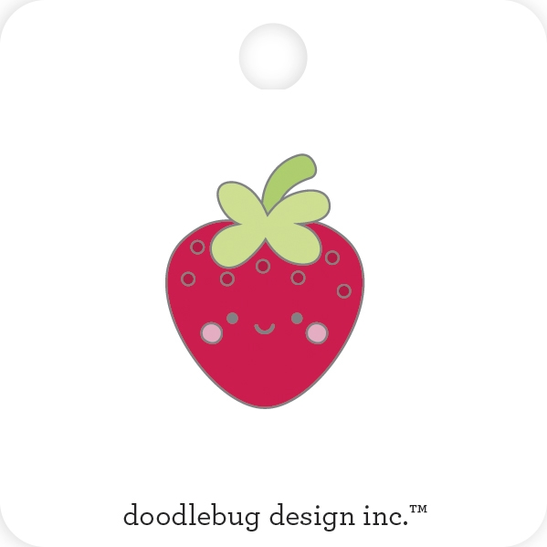 Doodlebug BERRY CUTE Collectible Enamel Pin 6803 zoom image