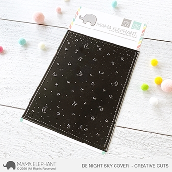 Mama Elephant Deep Etched NIGHT SKY COVER Creative Cuts Steel Dies