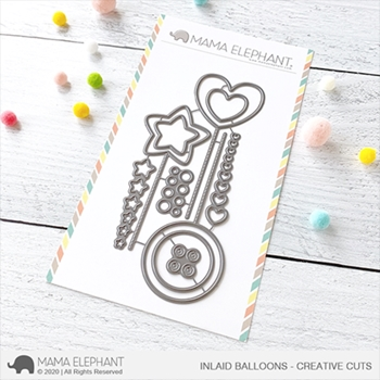 Mama Elephant INLAID BALLOONS Creative Cuts Steel Dies