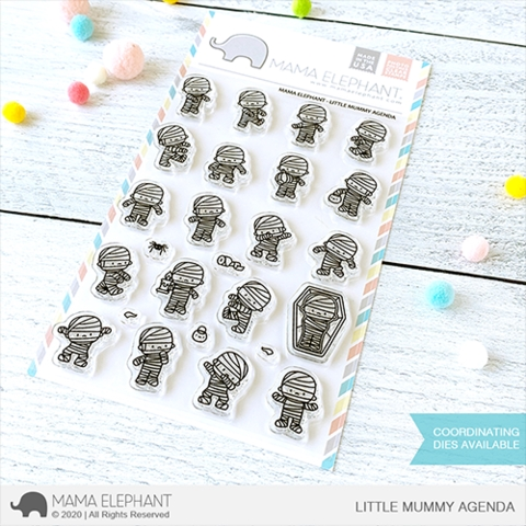 Mama Elephant Clear Stamps LITTLE MUMMY AGENDA  Preview Image