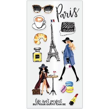 Hampton Art PARIS Clear Stamps sc0897