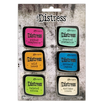 Tim Holtz Distress Enamel Pin SET 1 Ranger tdzs73437 **