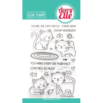 Avery Elle Clear Stamps WHISKERS ST-20-23