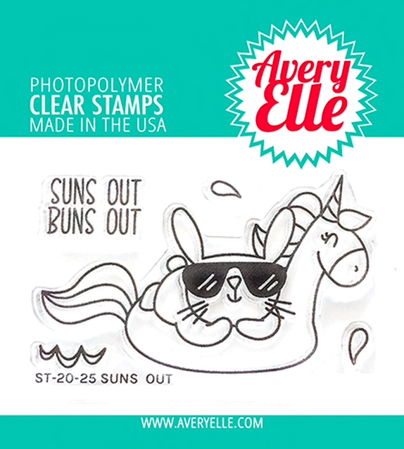 Avery Elle Clear Stamps SUNS OUT ST-20-25 zoom image
