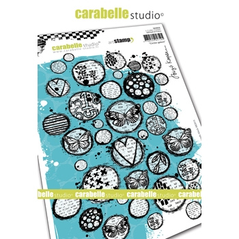 Carabelle Studio CIRCLES GALORE Cling Stamps sa50039