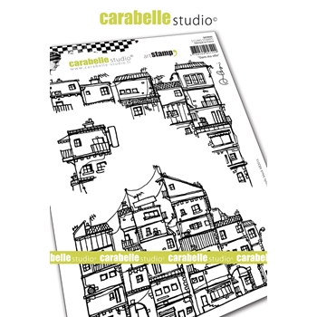 Carabelle Studio IN MY CITY Cling Stamps sa50040