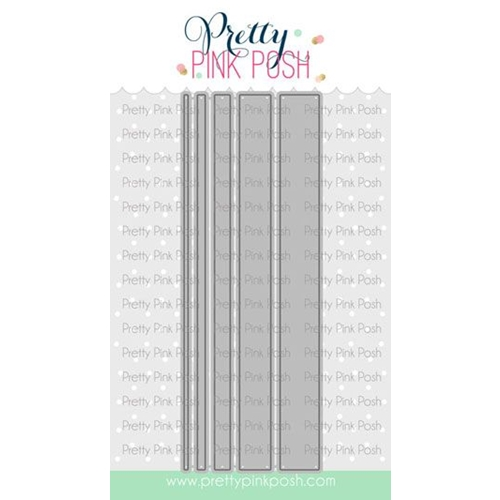 Pretty Pink Posh SIMPLE STRIPS Dies Preview Image