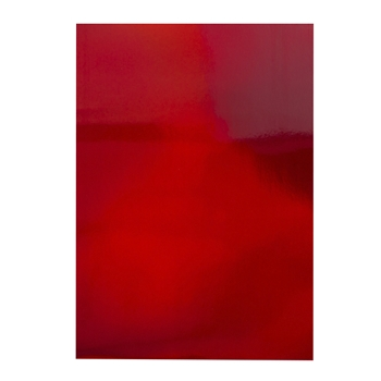 Tonic FIRE STONE RED Mirror Card Iridescent Cardstock 9785e