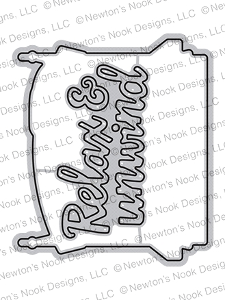 Newton's Nook Designs PORCH SWING FRIENDS Dies NN2006D05  Preview Image