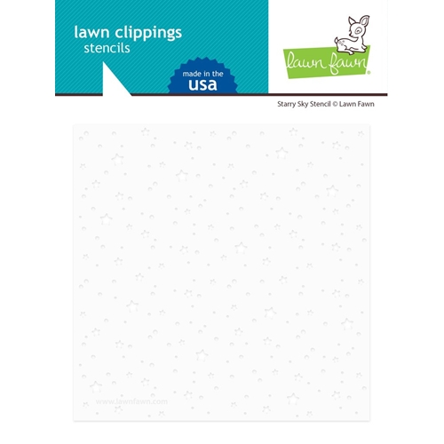 Lawn Fawn STARRY SKY Stencil lf2363 Preview Image