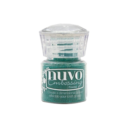 Tonic GLIMMERING GREEN Nuvo Embossing Powder 593n Preview Image