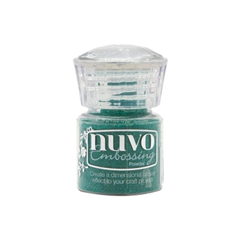 Tonic GLIMMERING GREEN Nuvo Embossing Powder 593n