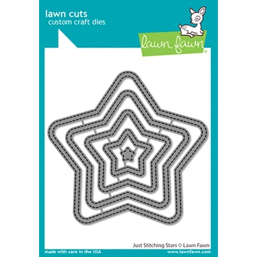 Lawn Fawn JUST STITCHING STARS Dies lf2362 Preview Image