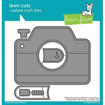 Lawn Fawn MAGIC IRIS CAMERA ADD-ON Dies lf2344