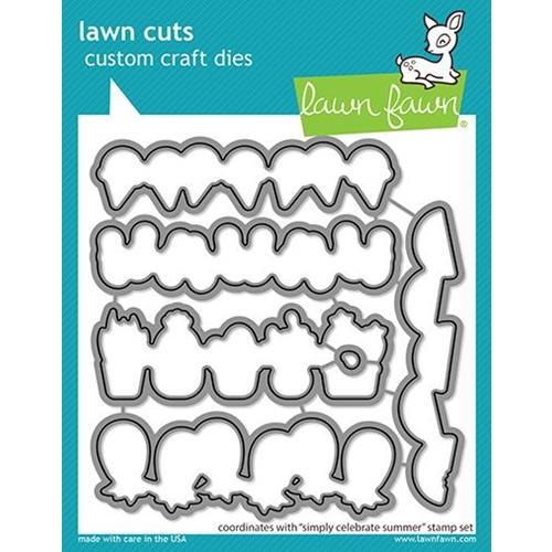 Lawn Fawn SIMPLY CELEBRATE SUMMER Dies lf2334 Preview Image
