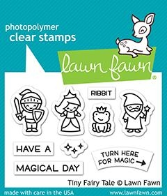Lawn Fawn TINY FAIRY TALE Clear Stamps lf2325
