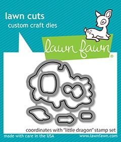 Lawn Fawn LITTLE DRAGON Dies lf2324 Preview Image