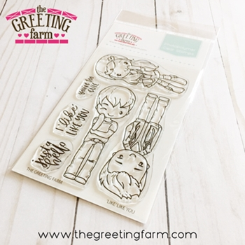 The Greeting Farm LIKE LIKE YOU Clear Stamps tgf555