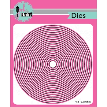 Pink and Main LAYERED CIRCLES Dies PNM281