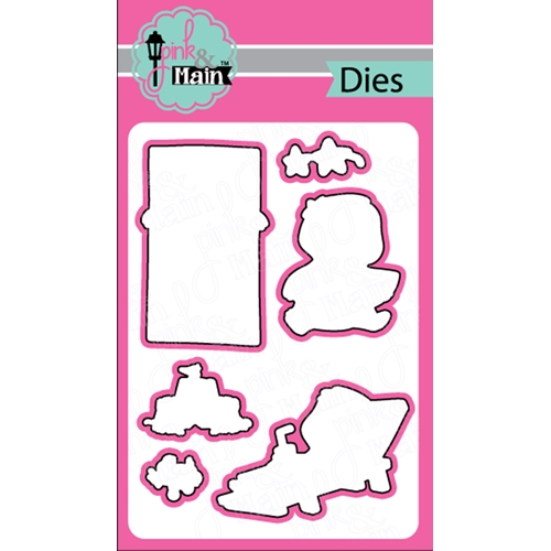 Pink and Main SUMMER SLOTHS Dies PNM275 Preview Image