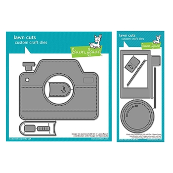 Lawn Fawn SET MAGIC IRIS CAMERA ADD-ON Dies lfmic