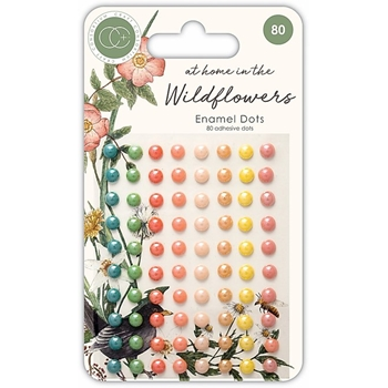 Craft Consortium AT HOME IN THE WILD FLOWERS ADHESIVE DOTS CCADOT007