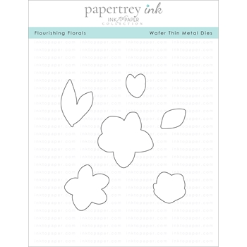 Ink to Paper FLOURISHING FLORALS Dies ITP131