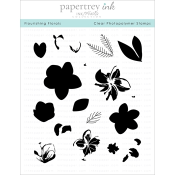 Ink to Paper FLOURISHING FLORALS Clear Stamps 1170