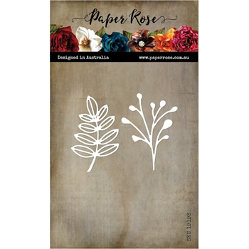 Paper Rose SIMPLE LEAF DUO Craft Dies 19193