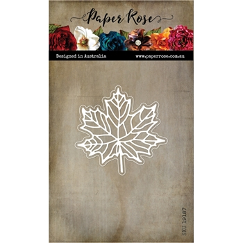 Paper Rose MAPLE LEAF Craft Dies 19187