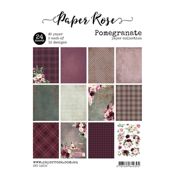 Paper Rose POMEGRANATE Paper Pack 19202