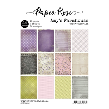 Paper Rose AMY'S FARMHOUSE Paper Pack 19205