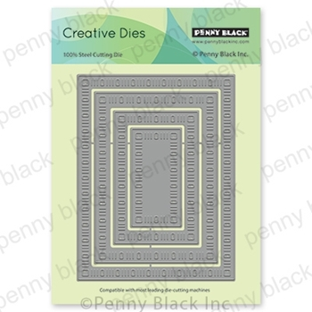 Penny Black DAINTY DASHES STACKERS Thin Metal Creative Dies 51-636