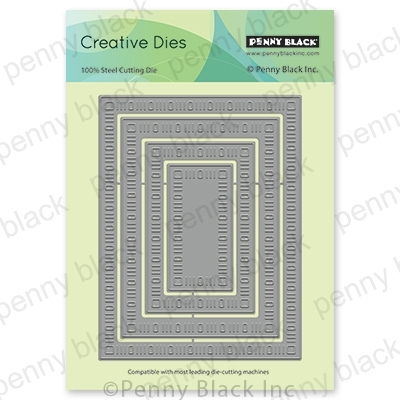 Penny Black DAINTY DASHES STACKERS Thin Metal Creative Dies 51-636 zoom image