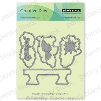 Penny Black YUMMY Thin Metal Creative Dies 51-625