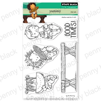 Penny Black Clear Stamps YUMMY 30-675