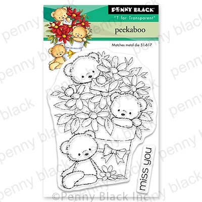 Penny Black Clear Stamps PEEKABOO 30-685 Preview Image