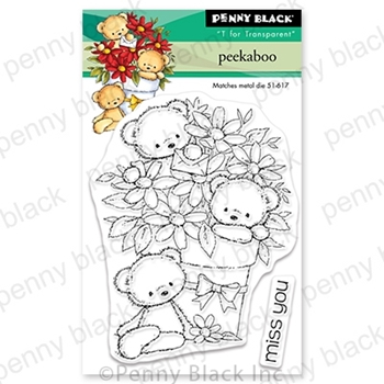 Penny Black Clear Stamps PEEKABOO 30-685