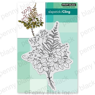 Penny Black Cling Stamp ILLUSTRIOUS 40-735 Preview Image