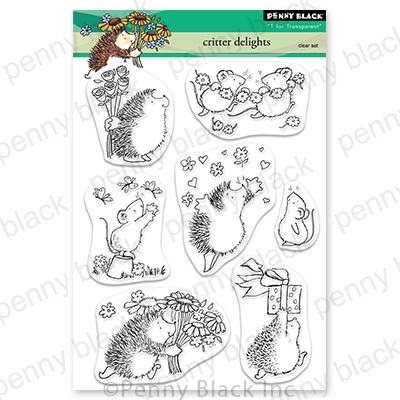 Penny Black Clear Stamps CRITTER DELIGHTS 30-711 zoom image