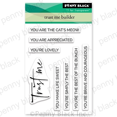 Penny Black Clear Stamps TRUST ME BUILDER 30-710 Preview Image