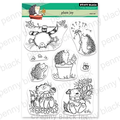 Penny Black Clear Stamps PLANT JOY 30-708 zoom image