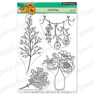 Penny Black Clear Stamps REFRESHING 30-695 Preview Image