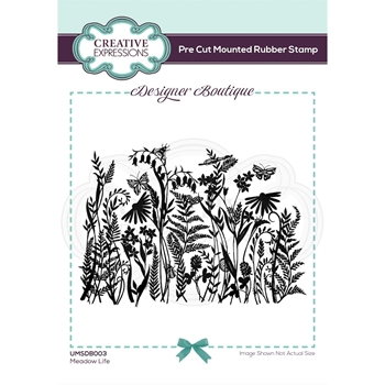 Creative Expressions MEADOW LIFE Cling Stamps umsdb003*