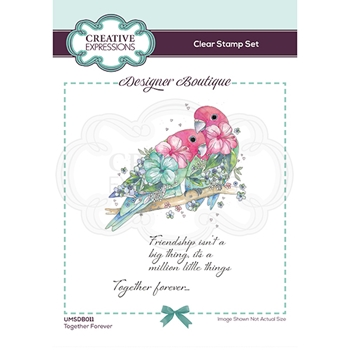 Creative Expressions TOGETHER FOREVER Clear Stamps umsdb011