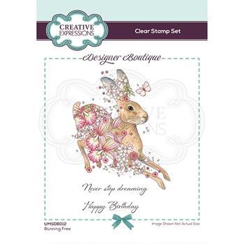Creative Expressions RUNNING FREE Clear Stamps umsdb012