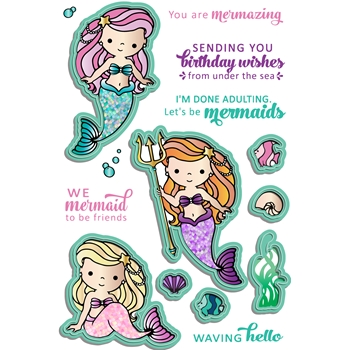 LDRS Creative MERMAID TREASURES Dies 8149