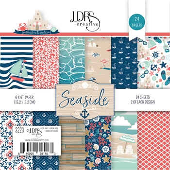 LDRS Creative SEASIDE 6 x 6 Paper Pad 3223
